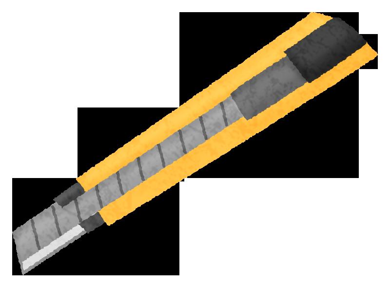 カッターナイフの無料イラスト フリーイラスト素材集 ジャパクリップ