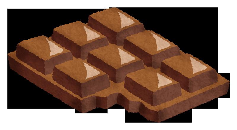 チョコレートの無料イラスト フリーイラスト素材集 ジャパクリップ