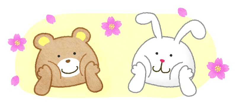 Coming of Spring / Bear and Rabbit