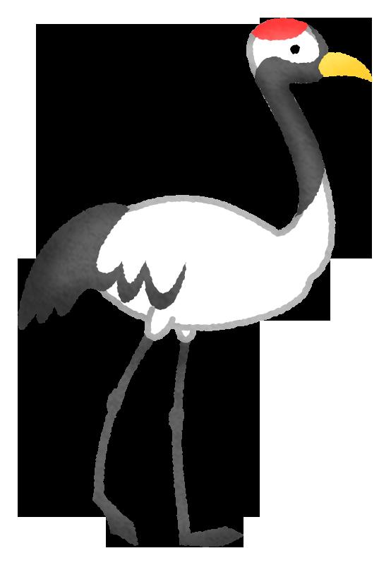 鶴の無料イラスト フリーイラスト素材集 ジャパクリップ