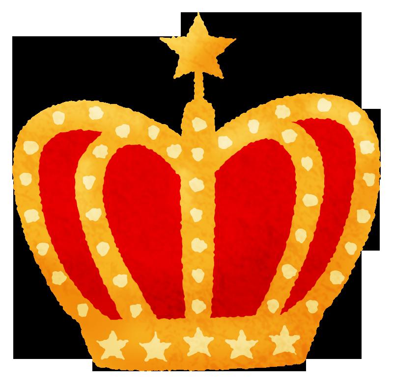 金メダルメダル王冠黄色かわいい犬動物イラスト無料デザイン