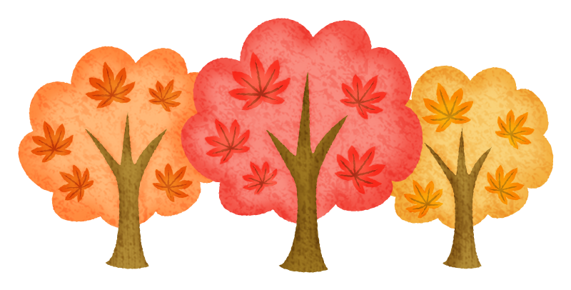 紅葉の木の無料イラスト フリーイラスト素材集 ジャパクリップ