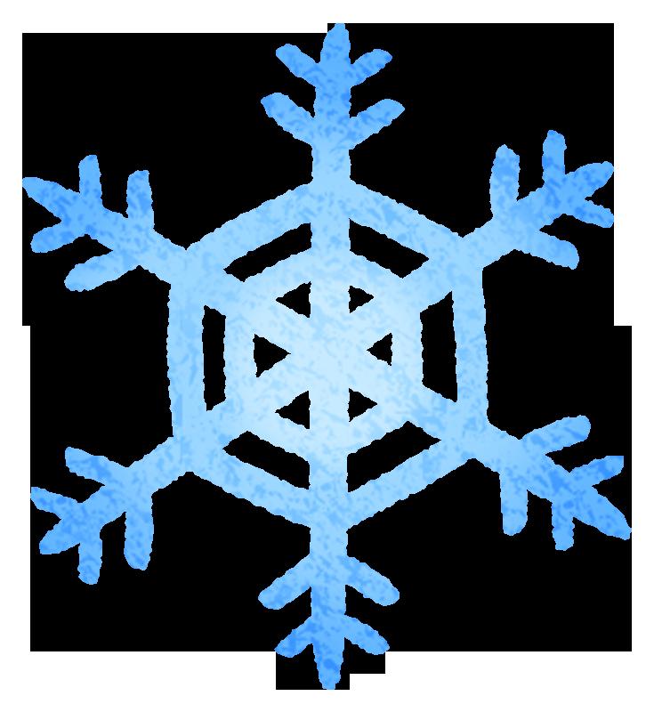 雪の結晶の無料イラスト フリーイラスト素材集 ジャパクリップ