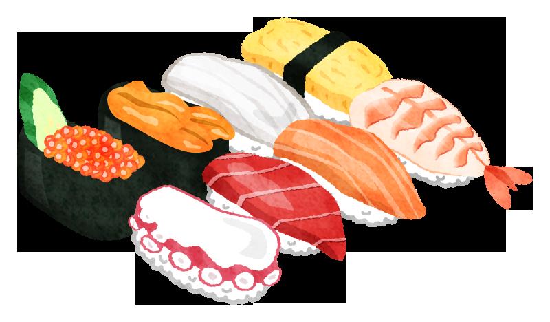 「お寿司イラスト」の画像検索結果