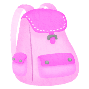 Backpack / Rucksack (pink)
