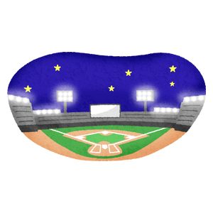 Baseball stadium (night)
