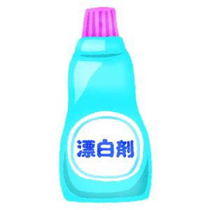 漂白剤の無料イラスト | フリーイラスト素材集 ジャパクリップ
