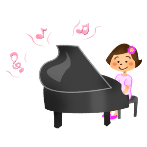 Kid's piano recital