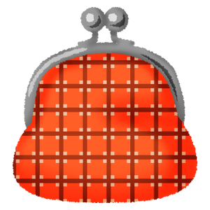 Gamaguchi coin purse (japanese style coin purse)