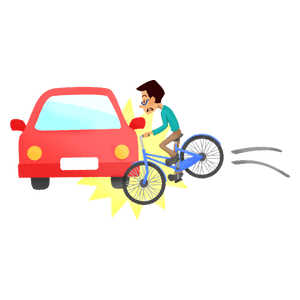 Car-bike collision