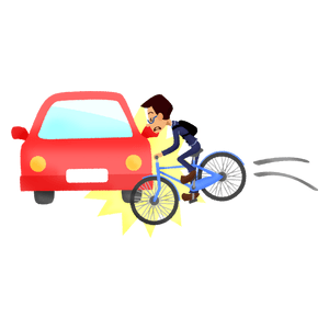 Car-bike collision 02