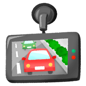 Dashcam (rear view)