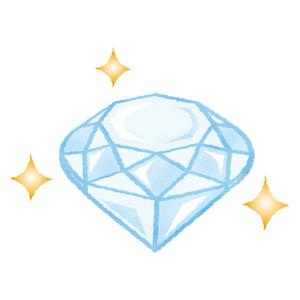 ダイヤモンドの指輪の無料イラスト フリーイラスト素材集 ジャパクリップ