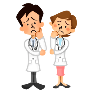 Worried doctors