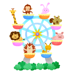 Ferris wheel (animals)