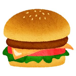 ハンバーガーの無料イラスト フリーイラスト素材集 ジャパクリップ