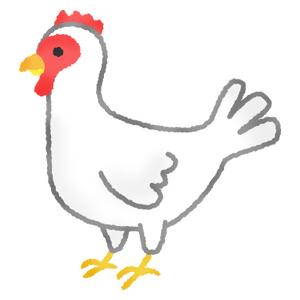 雄鶏と雌鶏の無料イラスト フリーイラスト素材集 ジャパクリップ