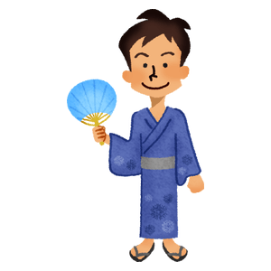 Man in yukata