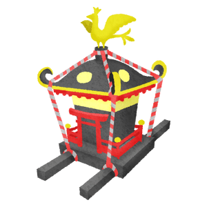 Mikoshi / Portable shrine