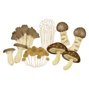 Various mushrooms