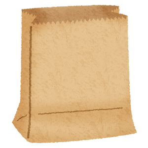 Paper bag  (brown) 02