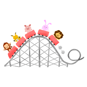 Roller coaster (animals)
