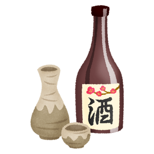 Sake and tokkuri