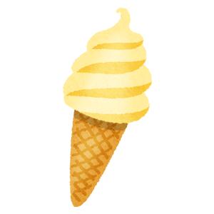 色々な味のソフトクリームの無料イラスト フリーイラスト素材集 ジャパ