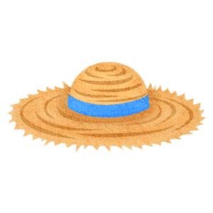 麦わら帽子の女の子の無料イラスト フリーイラスト素材集 ジャパクリップ