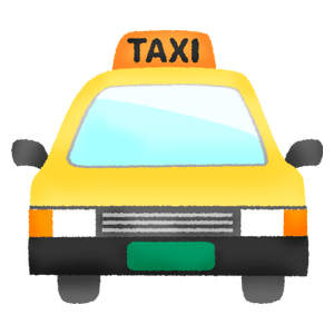 Taxi (front view)