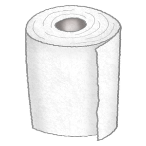 Toilet paper / Toilet roll