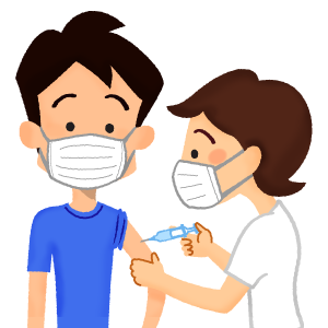 vaccination (young man)