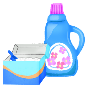 Washing powder and fabric softener
