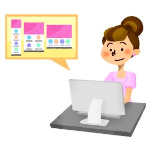 Webデザイナーの無料イラスト フリーイラスト素材集 ジャパクリップ