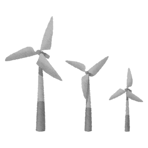 Wind power generation (wind turbines)